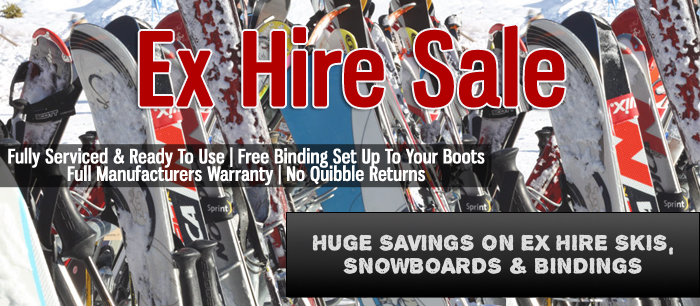 Ex Hire Snowboard Boots