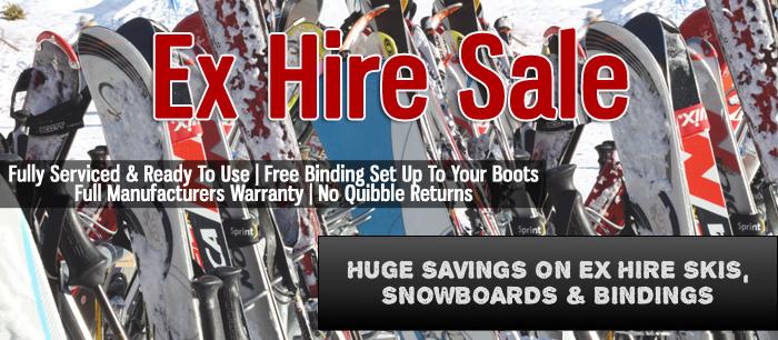Ex Hire Snowboards