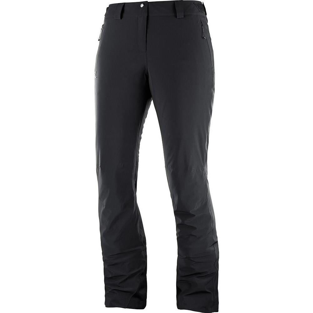 Salomon Icemania Womens Pants Black 2020