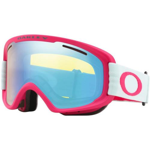 Oakley O Frame 2.0 PRO XM Womens Goggles Strong Red Jasmine - HI Yellow Iridium + Dark Grey Lens 2020