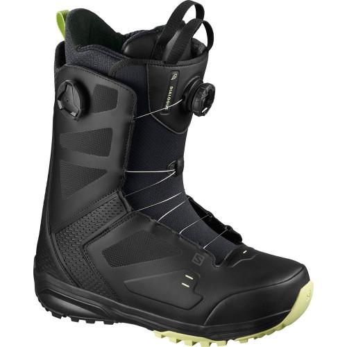 Salomon Dialogue Dual BOA Men's Snowboard Boots Black/Butterfly 2021