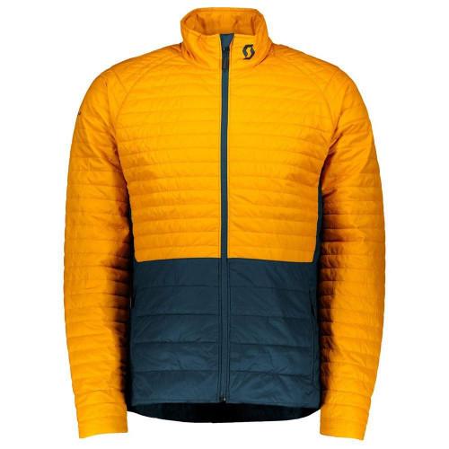 Scott Insuloft Light Midlayer Jacket Harvest Yellow / Nightfall Blue