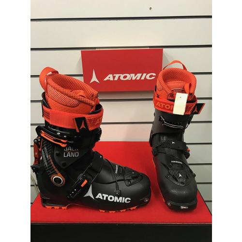 Atomic Backland Carbon 2019 Ski Touring Boots Black/Anthracite/Orange 25/25.5 - Ex-Display Model