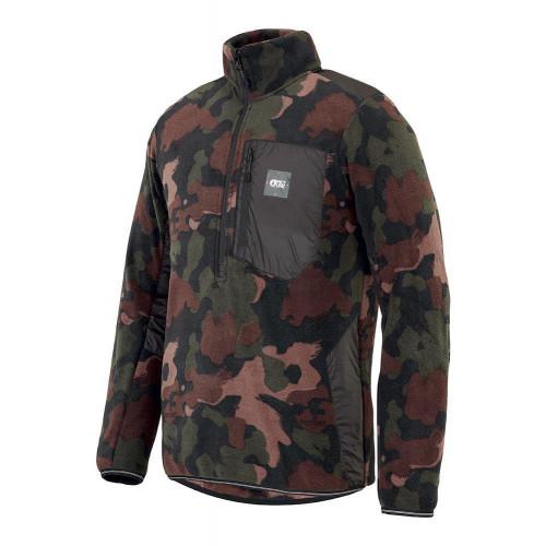 Picture Garden Fleece PO Jacket Camo