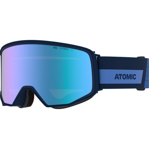 Atomic Four Q HD Goggles Grey - Green HD Cat.2-3 + Spare Lens