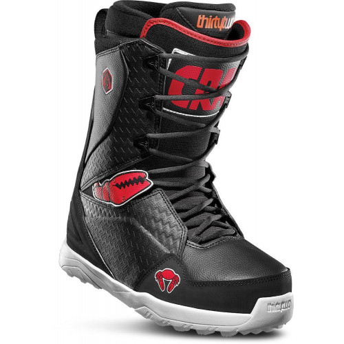 Thirtytwo Lashed Crab Grab Mens Snowboard Boots Black/Red/White 2020