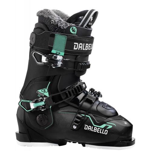 Dalbello Chakra AX 90 Womens Ski Boots 2021 Black/Black