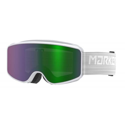 Marker Squadron Junior Goggles Snowwhite - Green Screen Mirror Lens