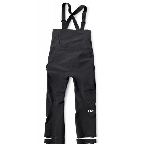 FW Manifest Tour 3L Men's Bib Pants Slate Black
