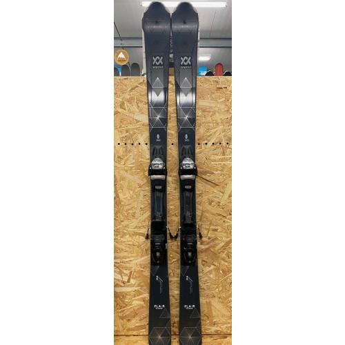 Volkl Flair 76 Elite 2021 Ex-Demo Womens Skis + Vmotion 10 GW L Bindings 154cm