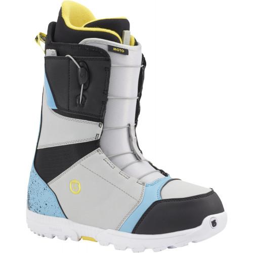 Burton Moto Snowboard Boots Black/Multi UK9.5