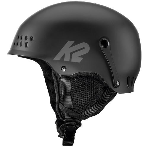 K2 Entity Junior Rental Ski & Snowboard Helmet Black S (51-55cm)