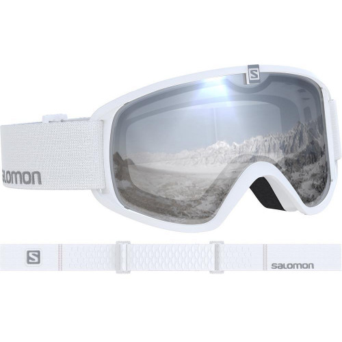 Salomon Trigger Junior Goggles White - Universal Super White Lens