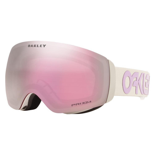 Oakley Flight Deck XM Goggles Factory Pilot Grey Lavender-Prizm Snow Hi Pink Lens