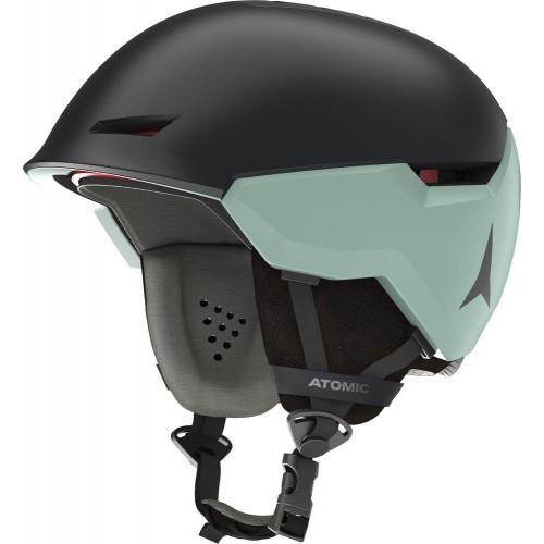 Atomic Revent+ LF Womens Ski + Snowboard Helmet Grey/Mint Sorbet