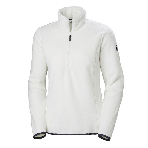 Helly Hansen Womens Feather Pile 3/4 Zip Top Off-White