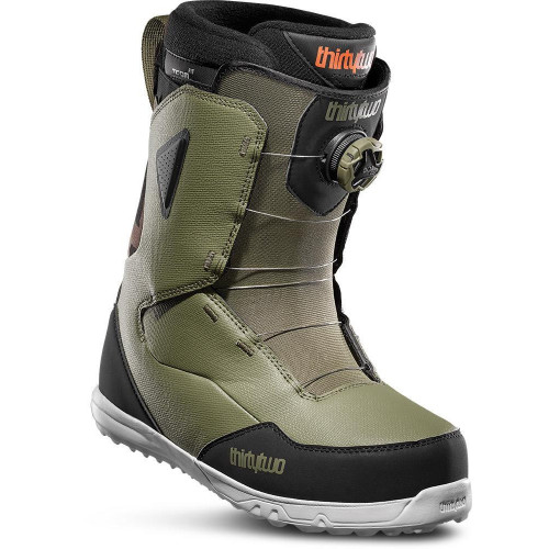 Thirtytwo Zephyr BOA Mens Snowboard Boots Olive/Black 2020