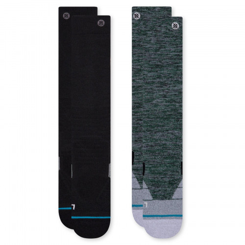 Stance Essential Snow 2 Pack Unisex Ski & Snowboard Socks Multi