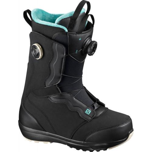 Salomon Ivy BOA SJ Women's Snowboard Boots Black 2021