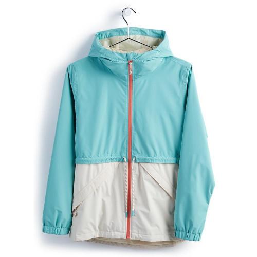 Burton Women's Narraway Jacket Buoy Blue/Creme Brulee