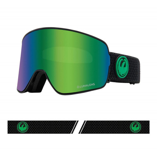 Dragon NFX2 Goggles Split - Lumalens Green Ion + Lumalens Amber 2021