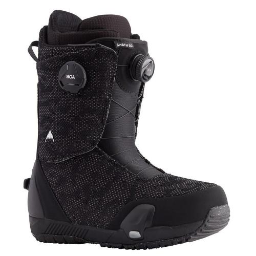 Burton Swath Step On Mens Snowboard Boots Black 2021
