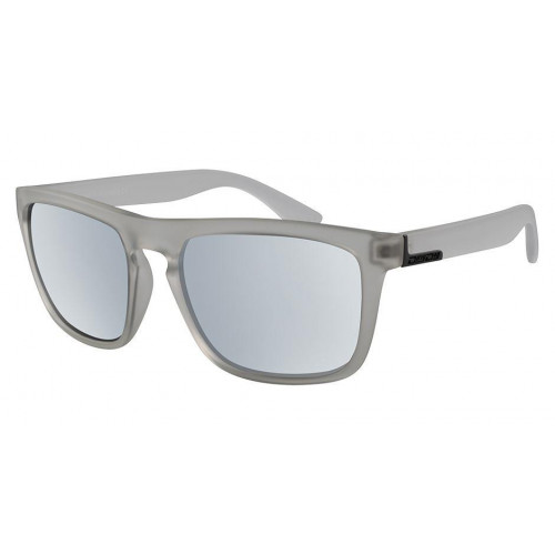 Dirty Dog Ranger Sunglasses Crystal Grey - Silver Mirror Polarised Lens