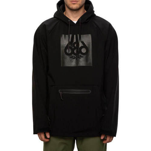 686 Men's Waterproof Hoody Black