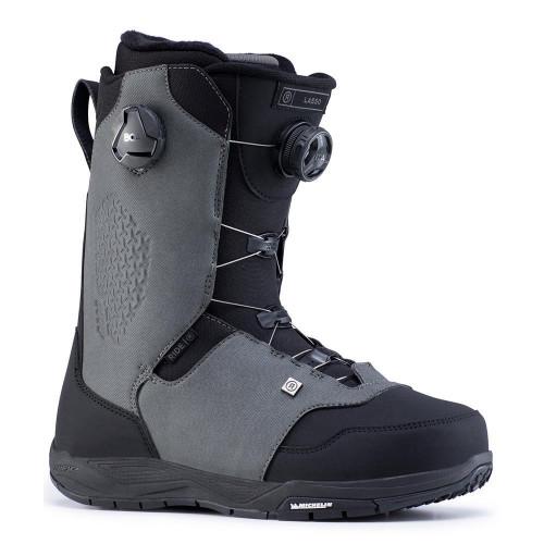 Ride Lasso BOA Mens Snowboard Boots Grey 2020