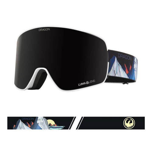 Dragon NFX2 Goggles Chris Benchetler Signature - Lumalens Midnight + Lumalens Rose 2021