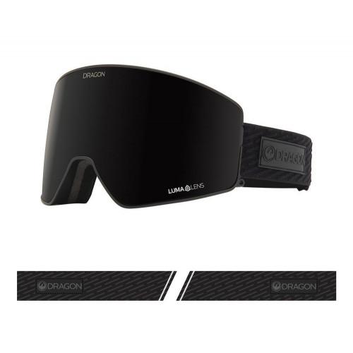 Dragon PXV2 Goggles Midnight - Lumalens Midnight + Lumalens Violet 2021