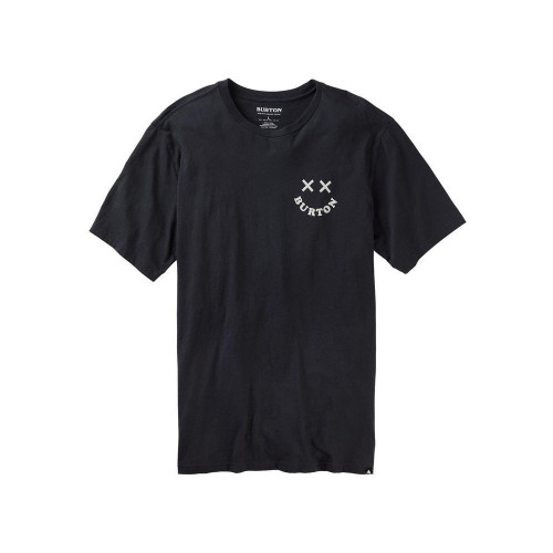 Burton Mens Skeleton Key SS T-Shirt True Black