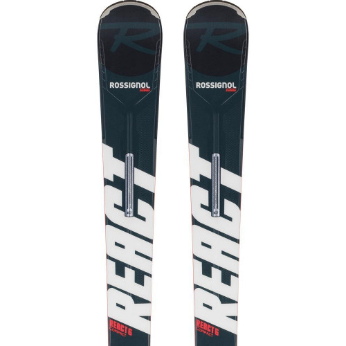 Rossignol React R6 Compact 2021 Skis + Xpress 11 GW Bindings