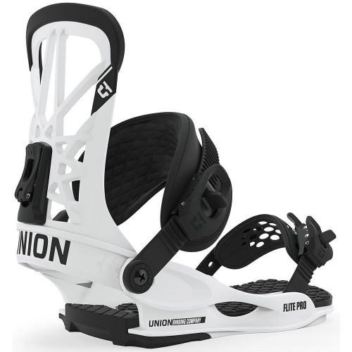 Union Flite Pro Snowboard Bindings White 2020