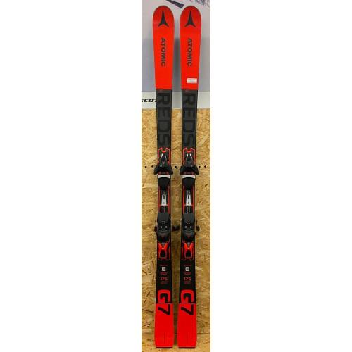 Atomic Redster G7 Ex-Demo Skis + FT12 GW Bindings 2021 175cm