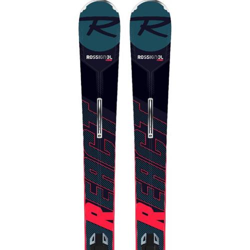 Rossignol React R8 Ti Skis + SPX 12 Bindings 2020