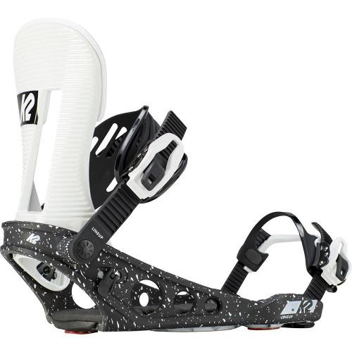 K2 Lineup 2019 Snowboard Bindings White And Black