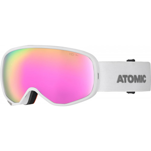 Atomic Count S HD Womens Goggles White - Pink/Copper HD Lens