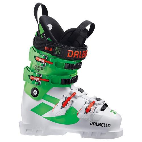 Dalbello DRS 75 Junior Ski Boots 2021 White/Race Green