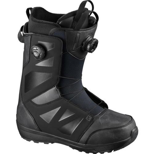 Salomon Launch BOA SJ Men's Snowboard Boots Black 2021