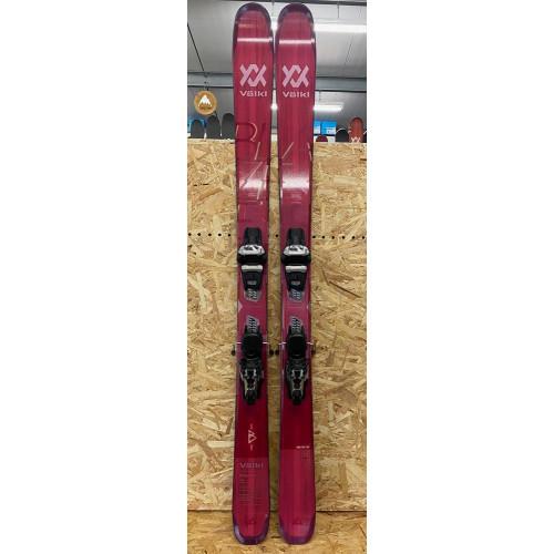 Volkl Blaze 94 W 2021 Ex-Demo Womens Skis + Marker Griffon 13 TCX D Bindings 165cm