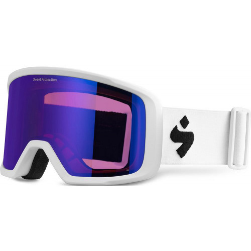 Sweet Protection Firewall Goggles Satin White Satin Sapphire Lens 2020