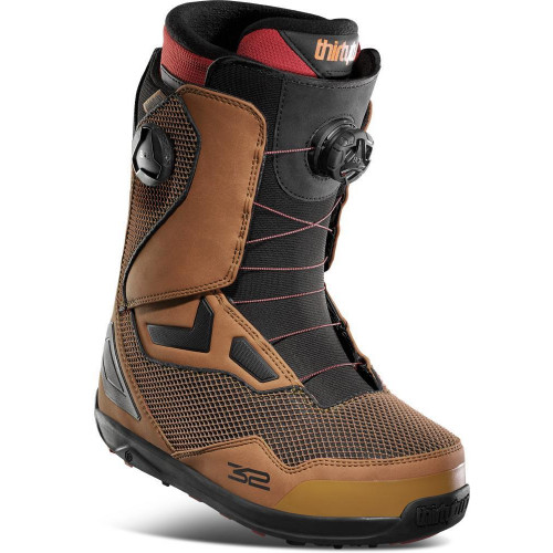 Thirtytwo TM-2 Double BOA Mens Snowboard Boots Brown 2021