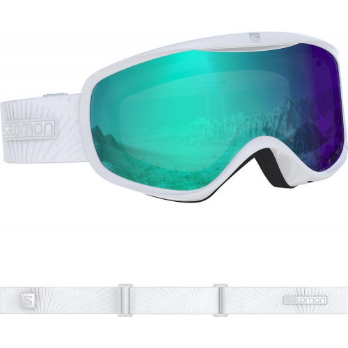 Salomon Sense Photo Womens Goggles White