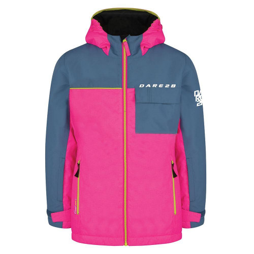 Dare 2b Jester Junior Jacket Cyber Pink / Astronomy Blue