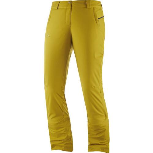 Salomon Stormseason Womens Pants Golden Palm 2020