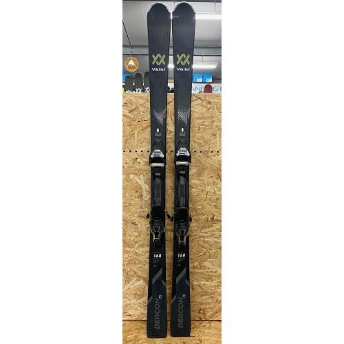 Volkl Deacon 75 2021 Ex-Demo Mens Skis + Vmotion 12 GW Bindings 168cm