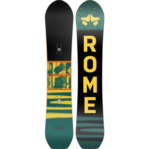 Rome Stale Crewzer Mens Snowboard 2021 151cm