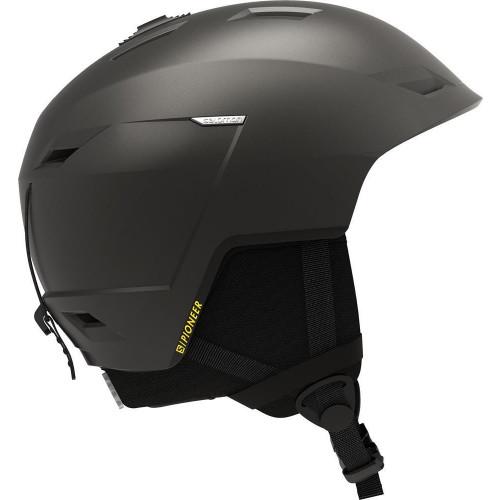Salomon Pioneer LT Ski + Snowboard Helmet Beluga/Safran