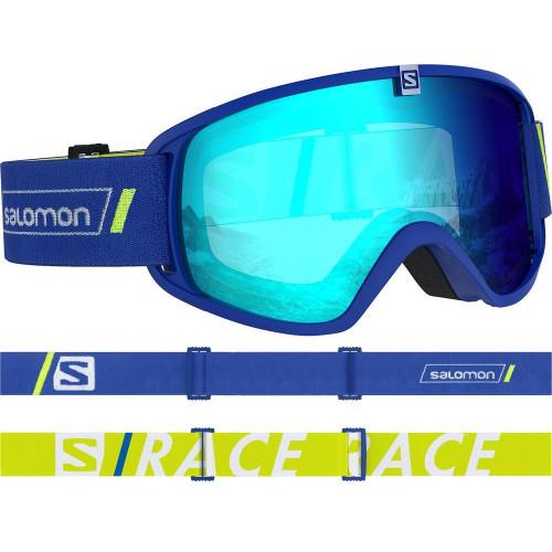 Salomon Trigger Junior Goggles Race Blue - Universal Mid Blue Lens